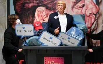Το μουσείο της Μαντάμ Τισό πέταξε στον… κάλαθο των αχρήστων το ομοίωμα του Τραμπ