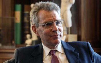 Στο Πεντάγωνο έσπευσε ο Αμερικανός πρέσβης Πάιατ - Συζήτησε τις εξελίξεις στην Ανατολική Μεσόγειο