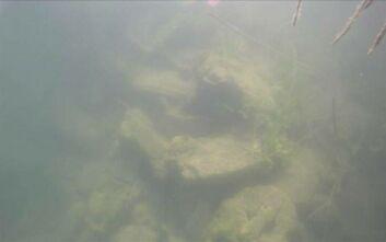 Ερείπια εκκλησίας ανακαλύφθηκαν στο βάθος μιας λίμνης στην περιοχή της Μαύρης Θάλασσας