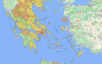 Οι περιοχές που εντοπίστηκαν τα νέα κρούσματα - Τα 207 είναι στην Αττική