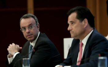 Σταϊκούρας - Γεωργιάδης: Στα 7,9 δισ. η συνολική στήριξη οικονομίας από χρηματοδοτικά εργαλεία