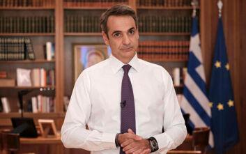 Στις 12:00 το μήνυμα του Κυριάκου Μητσοτάκη για τα νέα μέτρα
