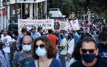 Ολοκληρώθηκε η κινητοποίηση της ΑΔΕΔΥ στο κέντρο της Αθήνας
