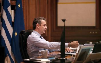 Μητσοτάκης σε στελέχη της Εθνικής Αρχής Διαφάνειας: Σαράκι που τρώει την κοινωνία από μέσα η διαφθορά