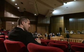Δίκη Χρυσής Αυγής: Παρών στο δικαστήριο ο Ηλίας Κασιδιάρης