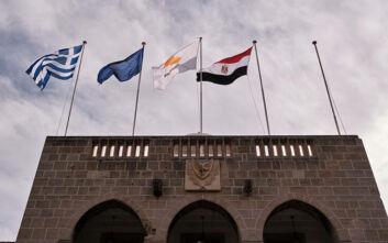 Κοινή Διακήρυξη Κύπρου-Ελλάδας-Αιγύπτου: Καταδίκη παράνομων ενεργειών της Τουρκίας