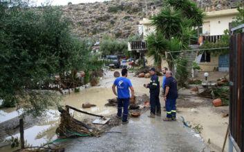 Κακοκαιρία: Αποκαρδιωτικές οι εικόνες σε περιοχές του Ηρακλείου μετά την πρωτοφανή νεροποντή