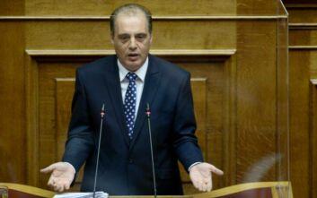 Να αυτοκτονήσουν όσοι χρεοκόπησαν τη χώρα ζήτησε ο Κυριάκος Βελόπουλος μιλώντας στη Βουλή