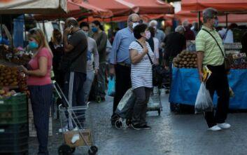 Πρώτη ημέρα εφαρμογής στην Αθήνα του μέτρου «μάσκα παντού»