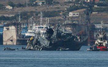 Συνελήφθη ο καπετάνιος του πλοίου που συγκρούστηκε με το «Καλλιστώ» στον Πειραιά