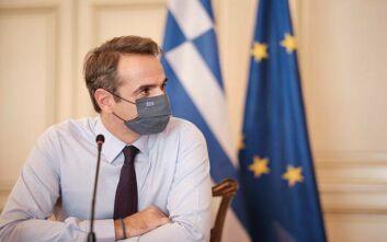 Κυριάκος Μητσοτάκης: Φοράμε όλοι μάσκα, και τη φοράμε σωστά, για να μείνουμε ασφαλείς