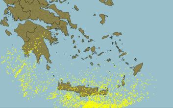 Καιρός: Έπεσαν 3.800 κεραυνοί στα νότια - Μεγάλα ύψη βροχής στην Κρήτη