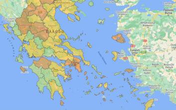 Οι περιοχές που εντοπίστηκαν τα 408 νέα κρούσματα - Τα 170 είναι στην Αττική