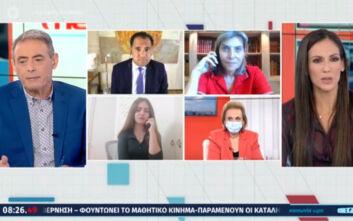 Ο Άδωνις Γεωργιάδης αρνήθηκε να μιλήσει στον «αέρα» εκπομπής με μαθήτρια για τις καταλήψεις