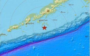 Ισχυρότατος σεισμός τώρα στην Αλάσκα