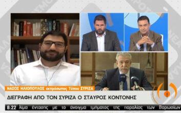Ηλιόπουλος: Φυσιολογική διαδικασία η διαγραφή Κοντονή μετά τις δηλώσεις του
