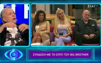 Big Brother: Ενοχλήθηκε ο Ανδρέας Μικρούτσικος με τη Ράνια Καραγιάννη - «Αν αρχίσεις τα πολιτικά δοκίμια θα σε κόψω»