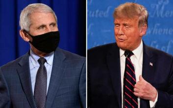 «Κεραυνοί» Τραμπ κατά Φάουτσι για τον κορονοϊό: Είναι καταστροφή