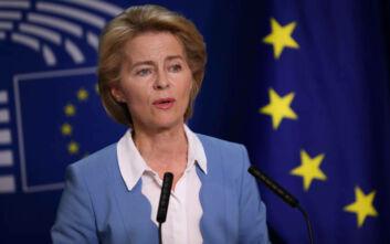 Ούρσουλα Φον Ντερ Λάιεν: Κράτη-μέλη και θεσμοί πρέπει να συνεργαστούν για την αντιμετώπιση του κορονοϊού
