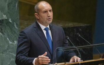 Σε καραντίνα ο πρόεδρος της Βουλγαρίας που ήρθε σε επαφή με κρούσμα κορονοϊού