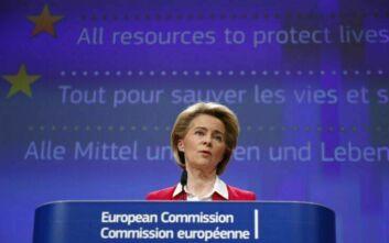 Αποχώρησε από τη Σύνοδο Κορυφής η Ούρσουλα φον ντερ Λάιεν λόγω κορονοϊού: Μπήκε σε καραντίνα