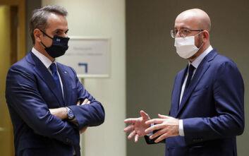 Ο Κυριάκος Μητσοτάκης ενημέρωσε τον Σαρλ Μισέλ ότι θα θέσει στη Σύνοδο Κορυφής τη νέα πρόκληση της Τουρκίας