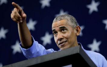 ΗΠΑ: Ο Ομπάμα εμφανίζεται για πρώτη φορά σε προεκλογική εκστρατεία του Μπάιντεν