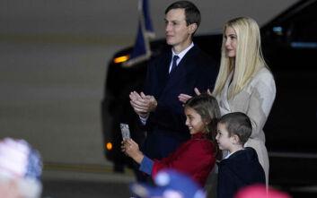 Αρνητικοί στον κορονοϊό η Ιβάνκα Τραμπ, ο Τζάρεντ Κούσνερ και ο 14χρονος γιος του Αμερικανού προέδρου