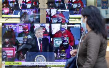 Αβεβαιότητα στις ΗΠΑ πριν τις εκλογές: Τι θα γίνει αν νοσήσει σοβαρά ο Τραμπ