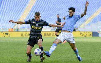 Serie A: Πρώτη απώλεια για Ίντερ, 1-1 με τη Λάτσιο