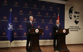 Στόλτενμπεργκ για ελληνοτουρκικά: Οι διαφορές μπορούν να αντιμετωπιστούν μόνο μέσω διαπραγματεύσεων
