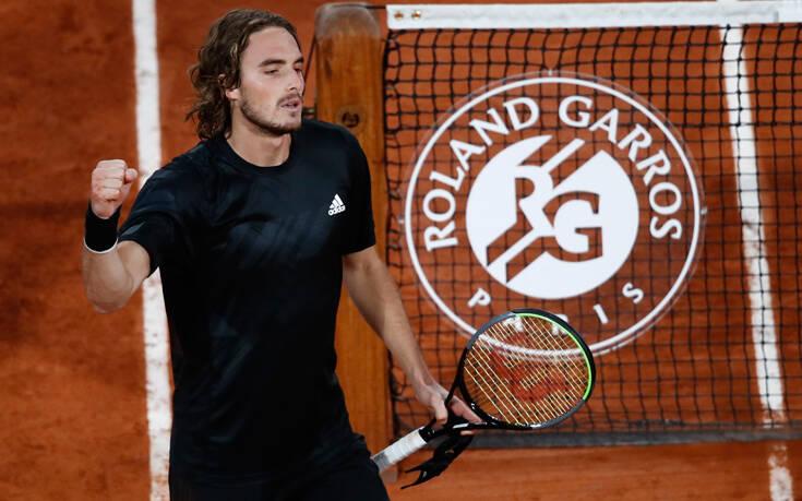 Roland Garros: Μάχη Τσιτσιπά - Ρούμπλεφ για μια θέση στον ημιτελικό
