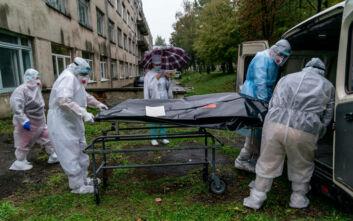 Νέο ρεκόρ θανάτων από κορονοϊό στην Ουκρανία