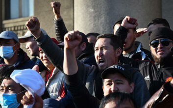 Έκλεισαν τα σύνορα οι αρχές του Κιργιστάν - Πολιτική αναταραχή στη χώρα