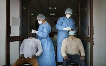 Ημερήσια αύξηση μολύνσεων κορονοϊού παγκοσμίως - Πάνω από 338.000 νέα περιστατικά