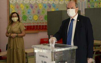 Κύπρος: Ερσίν Τατάρ και Μουσταφά Ακιντζί στο δεύτερο γύρο των «εκλογών» στα κατεχόμενα
