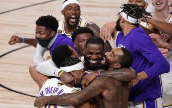 NBA: Πρωταθλητές για 17η φορά οι Λέικερς - Το σήκωσε ο ΛεΜπρον