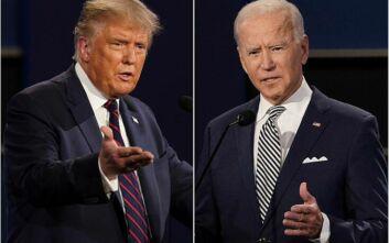 Με «κουμπί σίγασης» το δεύτερο και τελευταίο debate Τραμπ - Μπάιντεν την Πέμπτη