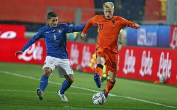 Nations League: Ισόπαλο το Ιταλία - Ολλανδία, ήττα-έκπληξη για την Αγγλία