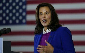 ΗΠΑ: Η κυβερνήτης του Μίσιγκαν ανησυχεί για την επίθεση που της άσκησε ο Τραμπ σε προεκλογική συγκέντρωση
