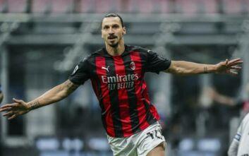 Serie A: Η Μίλαν με «διπλό» Ιμπραΐμοβιτς νίκησε με 2-1 την Ίντερ και έκανε το 4x4