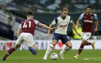 Premier League: Το Τότεναμ - Γουέστ Χαμ ήταν 3-0 στο 82' και έληξε 3-3