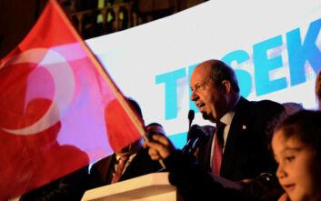 Κατεχόμενα: Ο εκλεκτός του Ερντογάν, Ερσίν Τατάρ αναλαμβάνει τα καθήκοντά του