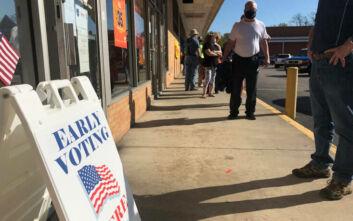 Προεδρικές εκλογές ΗΠΑ: Πέρα από κάθε προσδοκία η συμμετοχή των ψηφοφόρων