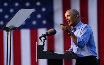Ομπάμα: Το να τουιτάρεις βλέποντας τηλεόραση δεν επιλύει τα προβλήματα