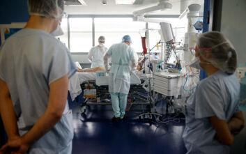 Ο υψηλότερος αριθμός νέων νοσηλειών μετά τον Απρίλιο, σήμερα στη Γαλλία