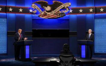 Debate Τραμπ-Μπάιντεν: Μικρότερη η τηλεθέαση σε σύγκριση με την πρώτη τηλεμαχία