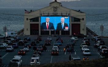Τραμπ - Μπάιντεν: Σε πιο πολιτισμένο τόνο το δεύτερο debate αν και δεν έλειψαν επιθέσεις και χαρακτηρισμοί
