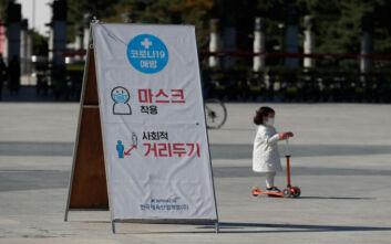 Προβληματισμός από την αύξηση των κρουσμάτων στη Ν. Κορέα