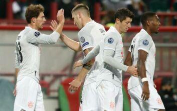 Champions League: Νίκη η Μπάγερν, πάλι ισοπαλία η Ίντερ